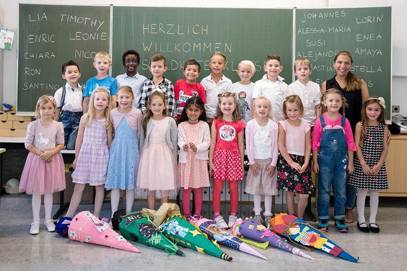 Klassenfoto Scheffelschule Rielasingen - Klasse 1b