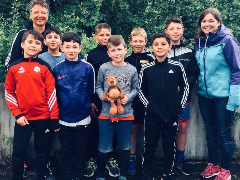 Scheffelschule bei Jugend trainiert für Olympia - Leichtathletik