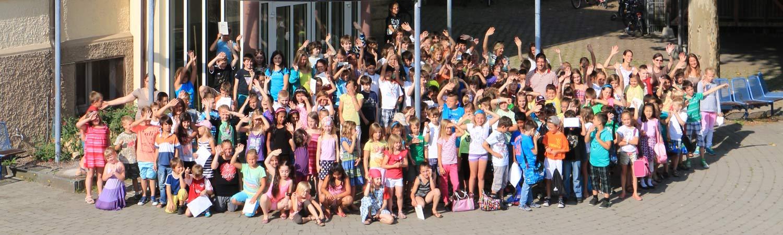 Grundschule Rielasingen - Grundschule | Ganztagesschule in Wahlform | Gruppenbild