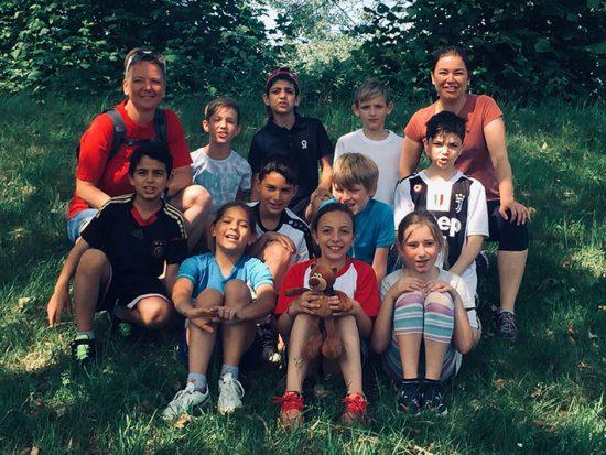 Scheffelschule Rielasingen belegt den 3. Platz bei Jugend trainiert für Olympia - Leichtathletik