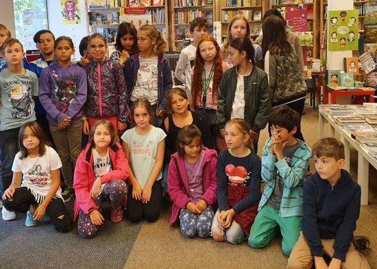 Scheffelschule Rielasingen in der Bücherstube