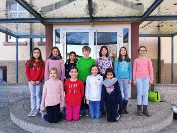 Zeitungs-AG an der Scheffelschule Rielasingen im Schuljahr 2019/2020