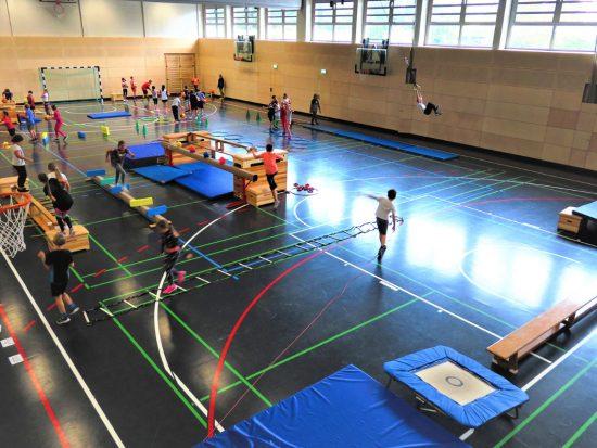 """Aktionstag """"Jugend trainiert für Olympia"""" der Scheffelschule Rielasingen (1)"""