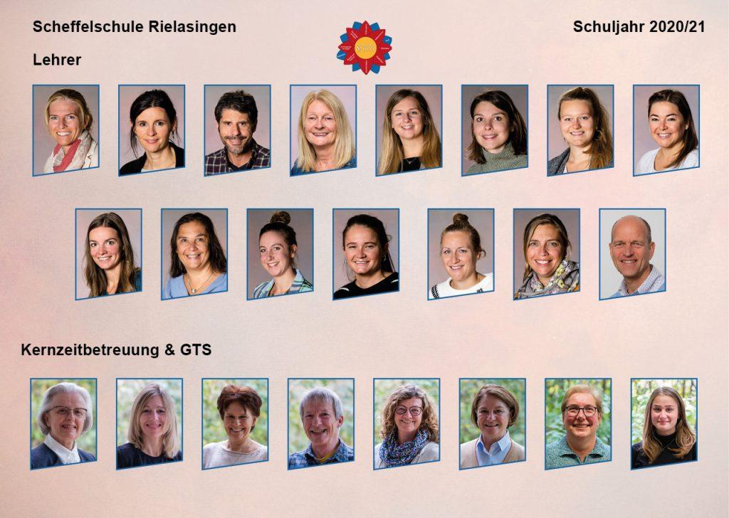 Team der Scheffelschule Rielasingen 2021-22