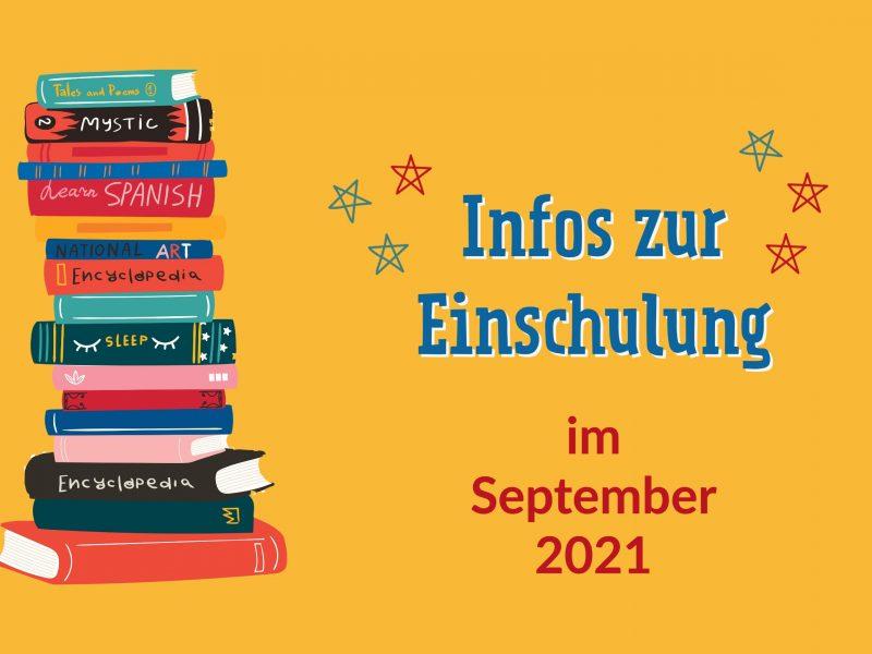 Einschulung 2021-22 an der Scheffelschule